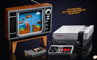 Привет из 80-х: LEGO и Nintendo анонсировали новый набор - NES из линейки Super Mario