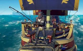 Новый трейлер «Sea of Thieves» показывает рыбалку и дрифтинг с гарпунами