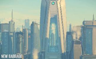 Star Citizen - Город Нью-Баббэдж в новом видео