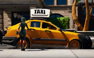 """Fortnite - С обновлением """"Веселая поездка"""" в игре появились четыре машины"""