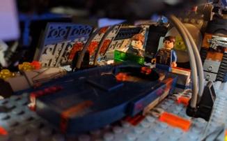 Фанат Mass Effect воссоздал фрегат «Нормандия SR-2» из LEGO