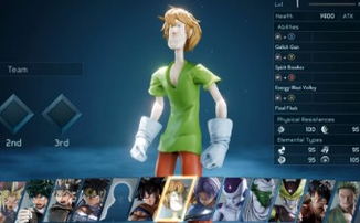 Моддеры добавили в Jump Force Шэгги из «Скуби-Ду»