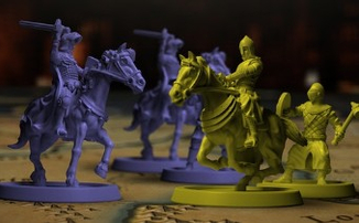 Настольная игра Crusader Kings была успешно профинансирована