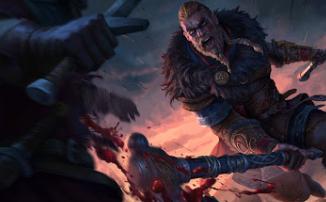 Assassin's Creed Valhalla — Ubisoft выложила ролик с ласкающей киску Эйвор