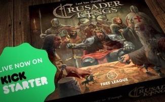 [PDXCON 2018] Crusader Kingsboard - Знакомая игра в непривычном формате