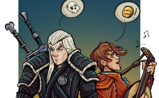World of Warcraft — В Shadowlands появились свои Геральт и Лютик: «Охотнику заплатите зерном...»