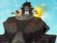 Прибытие Лобо и битва с Человеком из Стали в клипах «Супермена: Человек Завтрашнего Дня»
