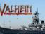 Valheim - Игрок построил известный военный корабль ВМС США