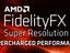 AMD FidelityFX Super Resolution встраивается в игру за день без особых усилий и просто работает