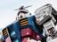 Японцы достроили 18-метрового робота по франшизе Gundam, и он может двигаться