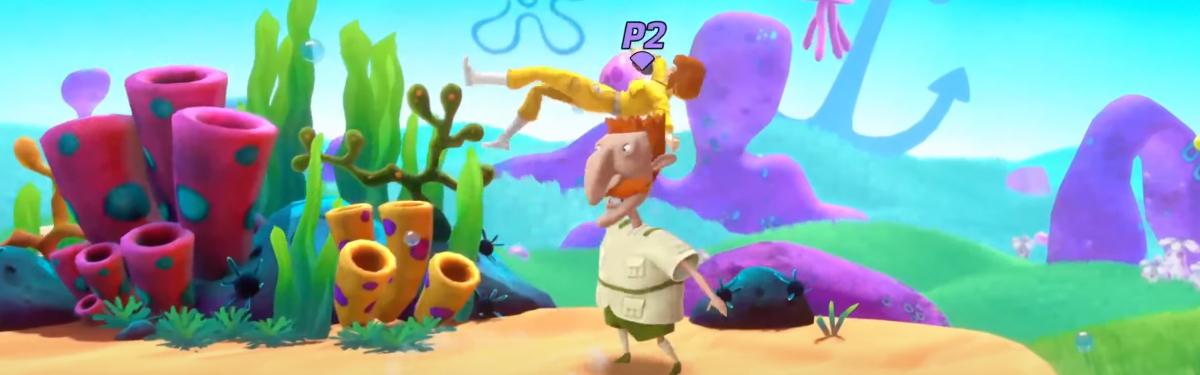 Nickelodeon All-Star Brawl — Геймплей красивого файтинга по фирменным мультфильмам