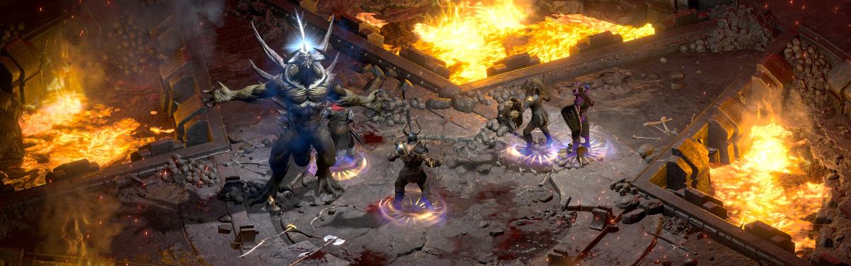 Diablo II: Resurrected официально вышла