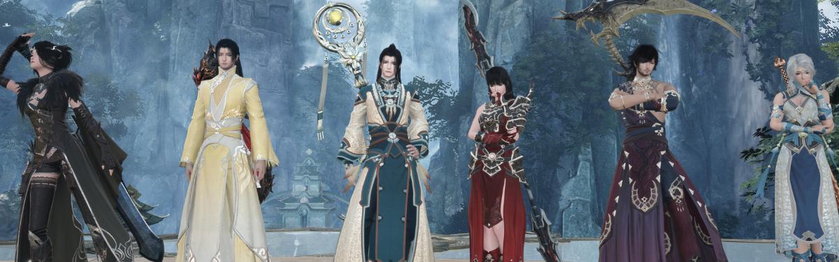 Swords of Legends Online - Все классы в одном трейлере