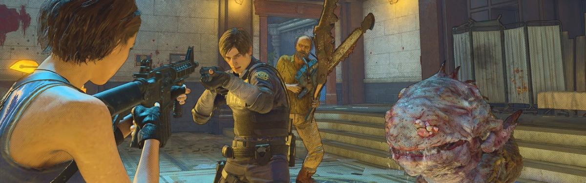 Resident Evil Re:Verse - Capcom объявила о переносе релиза мультиплеера на 2022 год