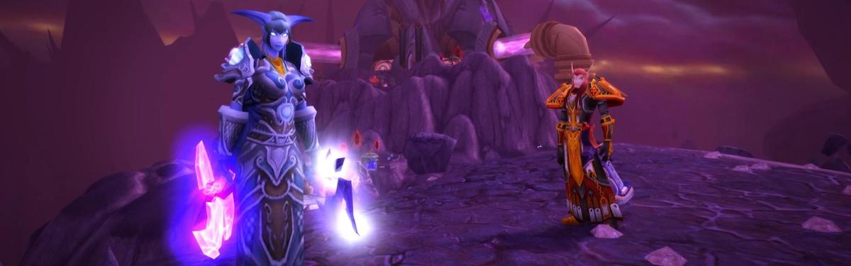 """World of Warcraft Classic - Запределье уже ждет. Состоялся выход дополнения """"The Burning Crusade"""""""
