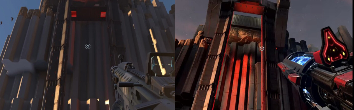 В сети появился видеоролик сравнения графики прошлогоднего и нового трейлера кампании Halo Infinite