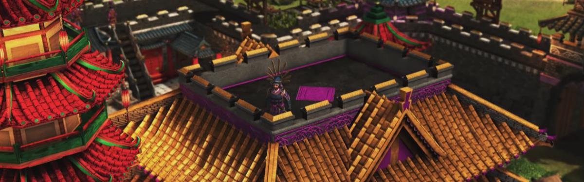 Stronghold: Warlords - Знакомство с четырьмя полководцами