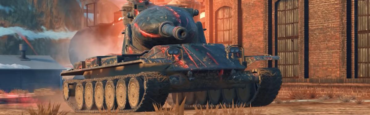 """В World of Tanks Blitz проходят бои на """"Выживание"""""""