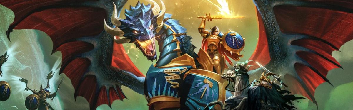 Warhammer Age of Sigmar: Storm Ground — Трейлер по случаю релиза пошаговой стратегии