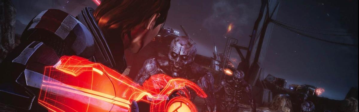 Распродажа Mass Effect Legendary Edition в PlayStation Store