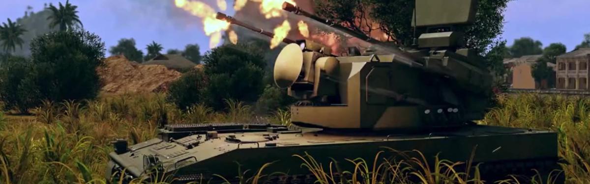 War Thunder - Китайская высокоранговая зенитка и помощь в тушении пожаров