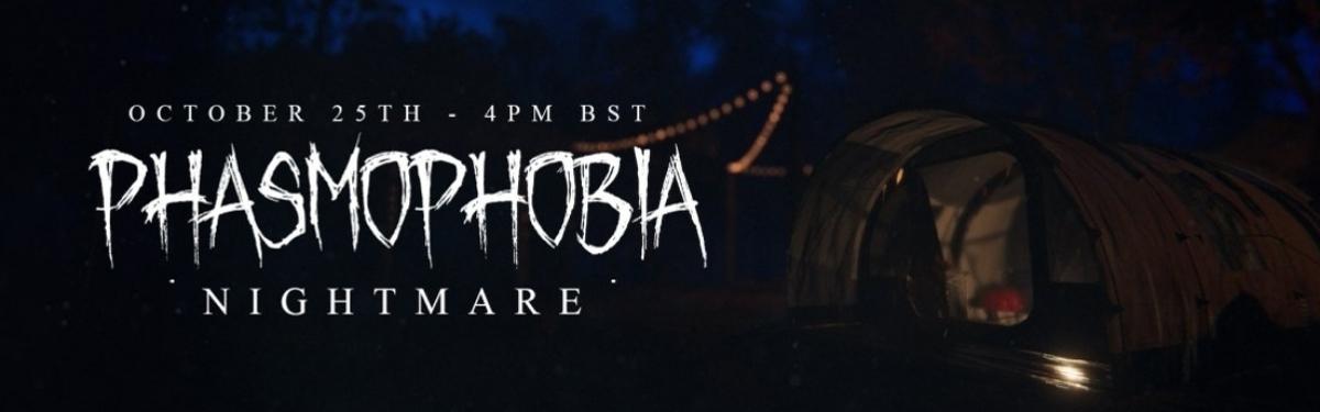 Охота за привидениями в лесу — Хеллоуинское обновление Phasmophobia