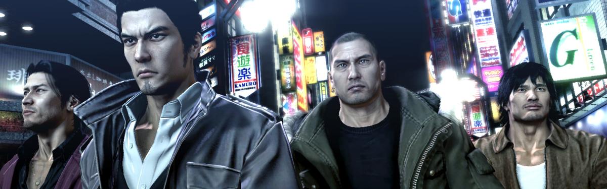 Yakuza 3, Yakuza 4 и Yakuza 5 вышли на ПК и консолях Xbox