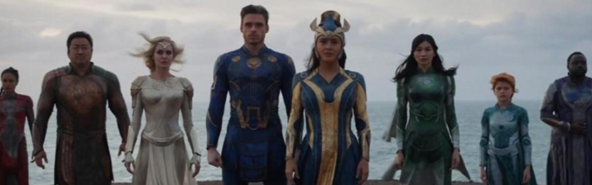 Marvel Studios представила новую фичуретку «Вечных»
