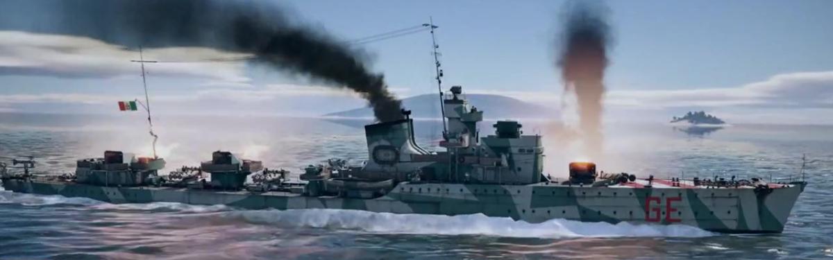 """War Thunder - Премиумные итальянские корабли и два новых """"реактива"""""""
