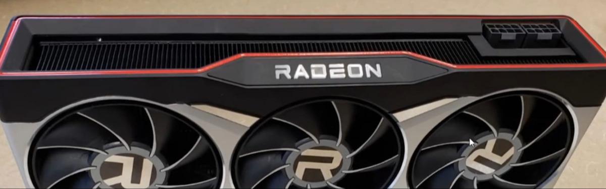 AMD Radeon RX 6900 XT вновь позирует перед камерой