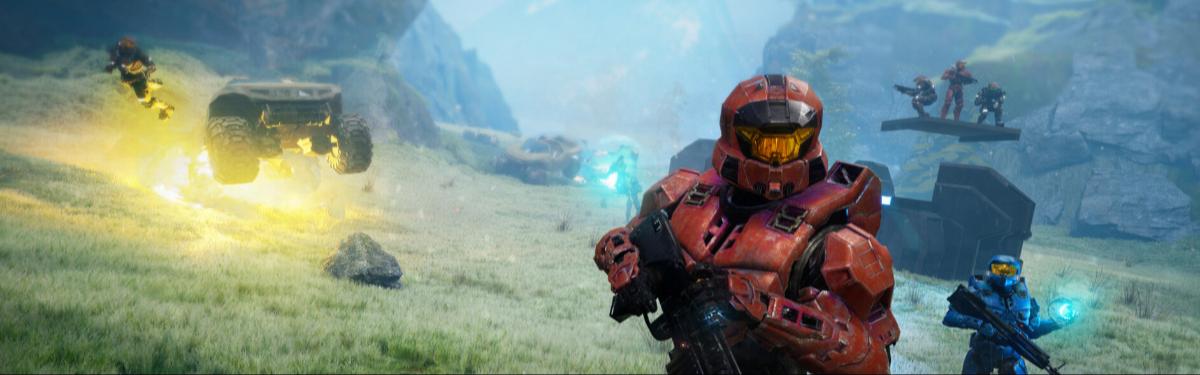 """Разработчики Halo Infinite на стриме показали сражение в PvP-режиме """"Большой Командной Битвы"""""""