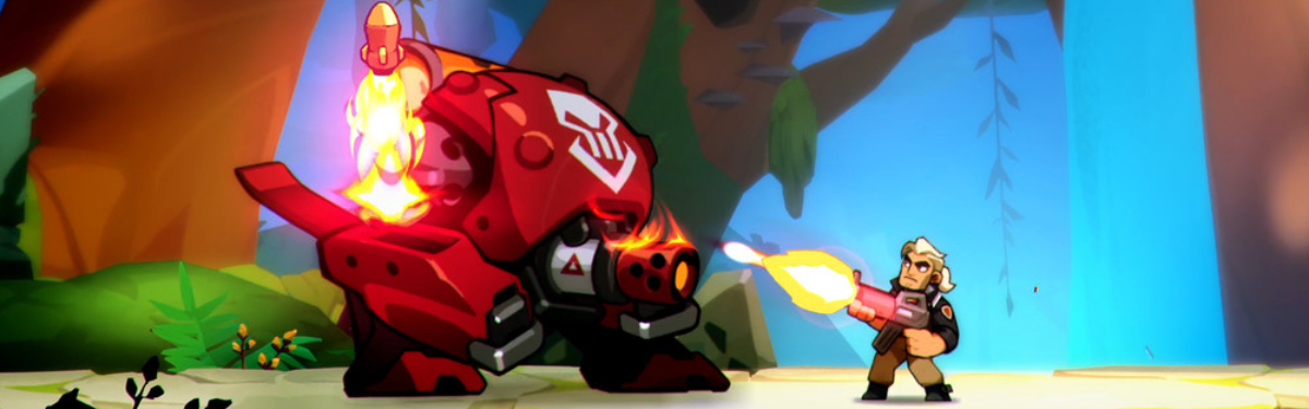 Blast Brigade vs. the Evil Legion of Dr. Cread - Анонсирован приключенческий 2D-экшен