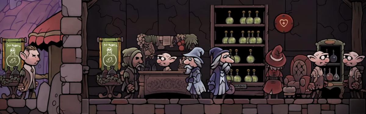 Potion Tycoon позволит открыть собственную лавку волшебных зелий