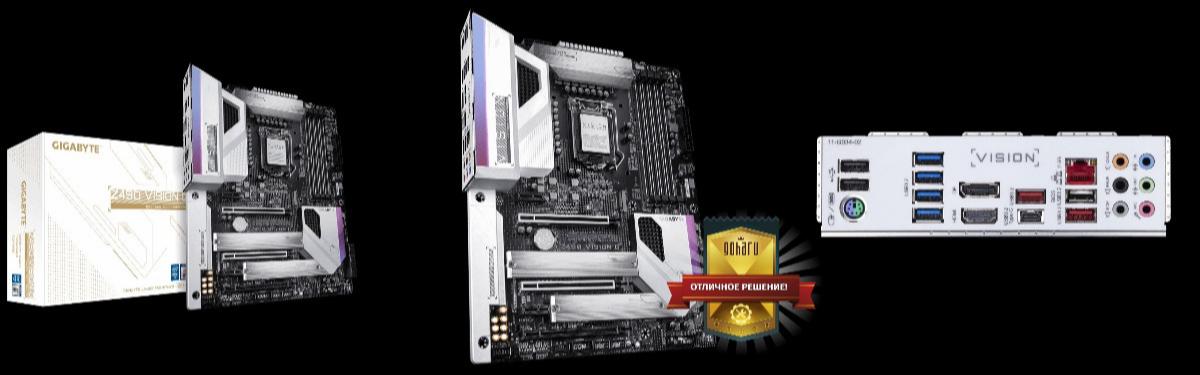 Gigabyte Z490 Vision G - красивая и функциональная матплата среднего сегмента