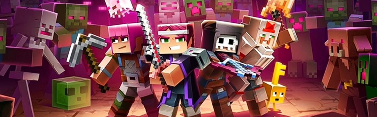 Minecraft Dungeons вышла на платформе Steam