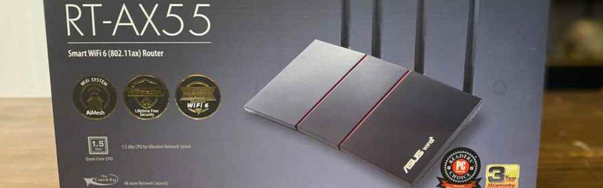 Обзор роутера ASUS RT-AX55 c WiFi 6