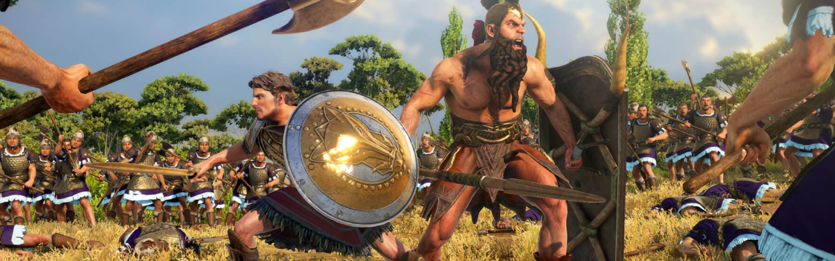 "Total War Saga: Troy - Анонсный трейлер и геймплейная демонстрация дополнения ""Ajax & Diomedes"""