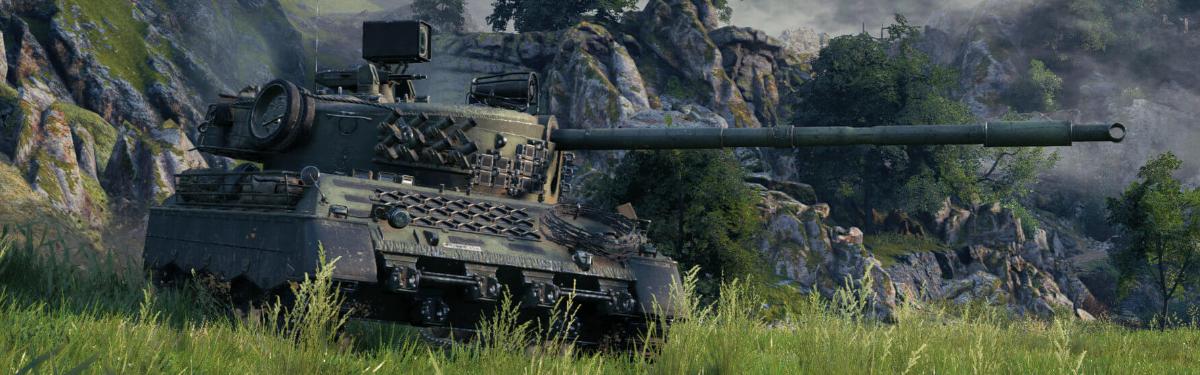 World of Tanks - Обзорное видео Kampfpanzer 07 RH