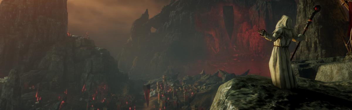 New World — Отправляемся на темную гору Shattered Mountain