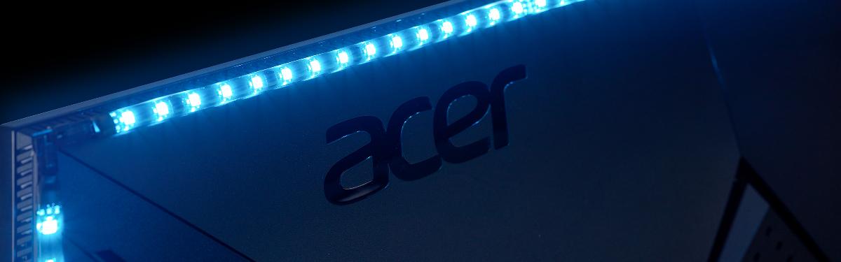 Пополнение для серии игровых мониторов Predator от Acer