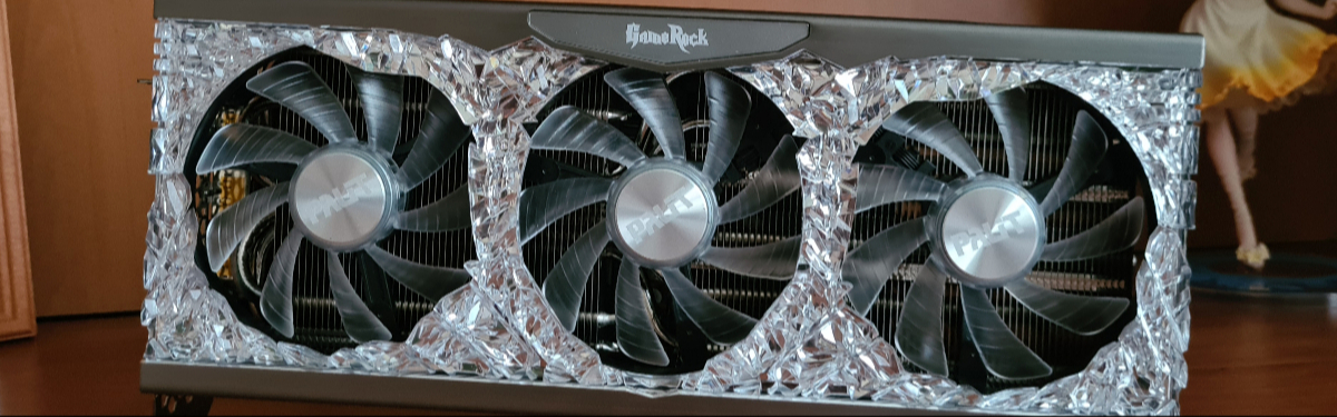 Обзор Palit GeForce RTX 3080 Ti GameRock OC - Производительная и яркая видеокарта