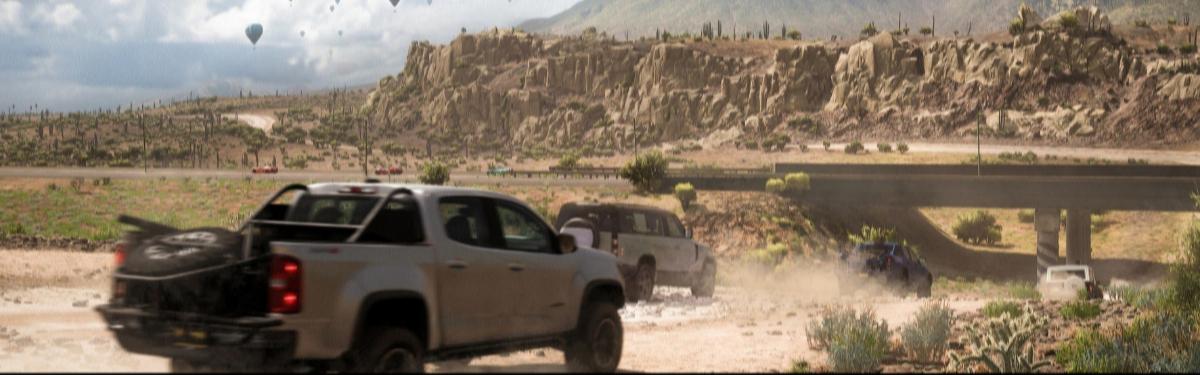Прекрасные звуки природы и локации в новом видео Forza Horizon 5