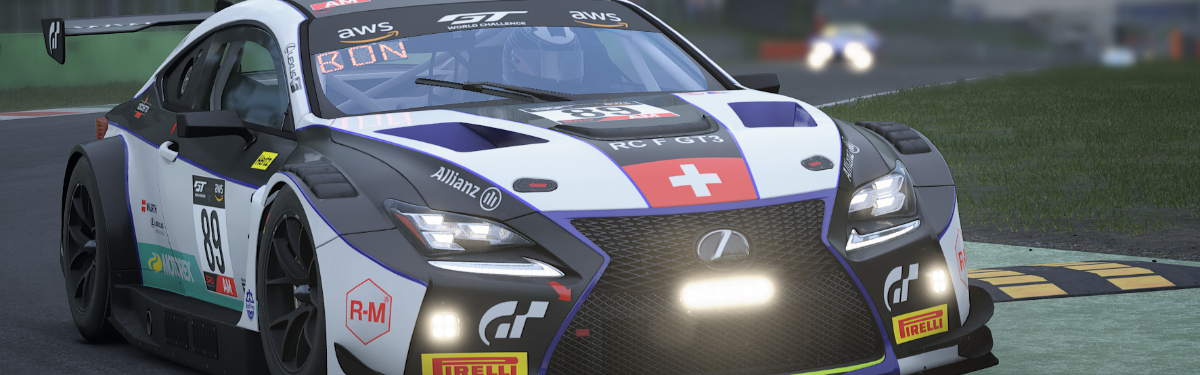 Стрим: Endurance Esports - Alien Zadrotti Pro Cup - 5 этап (Спа)