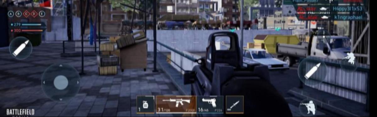 Первое геймплейное видео по мобильному шутеру Battlefield Mobile