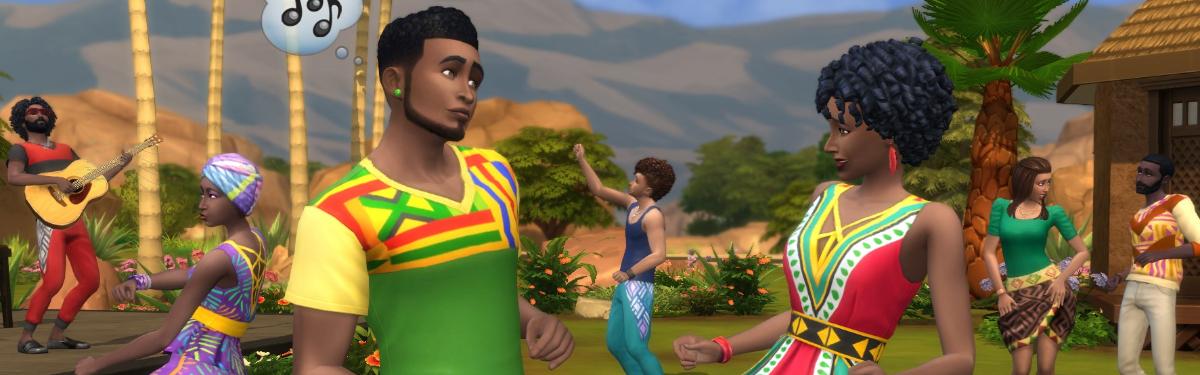 The Sims 4 - Более сотни оттенков кожи в декабрьском обновлении