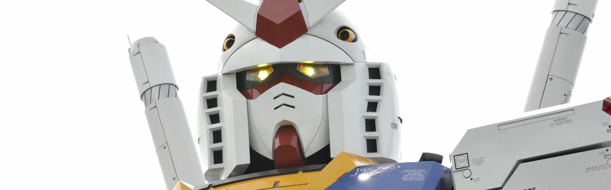 По франшизе Gundam хотят сделать киберспортивную игру с большими роботами