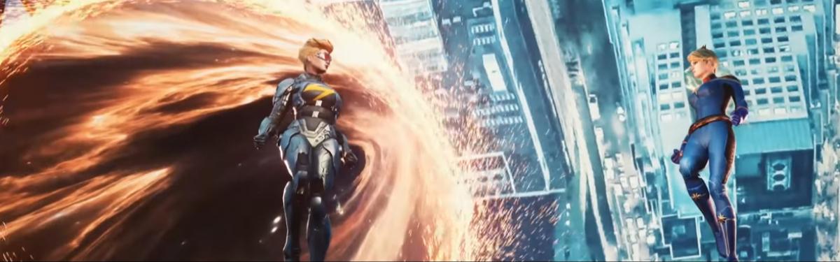 Marvel Future Revolution — Разработчики выпустили новый трейлер, представляющий Капитана Марвел