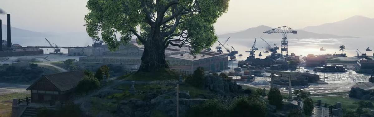 "World of Tanks - Полный видеообзор карты ""Старая гавань"""