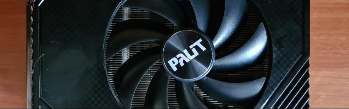Обзор Palit GeForce RTX 3060 StormX - Маленькая, да удаленькая
