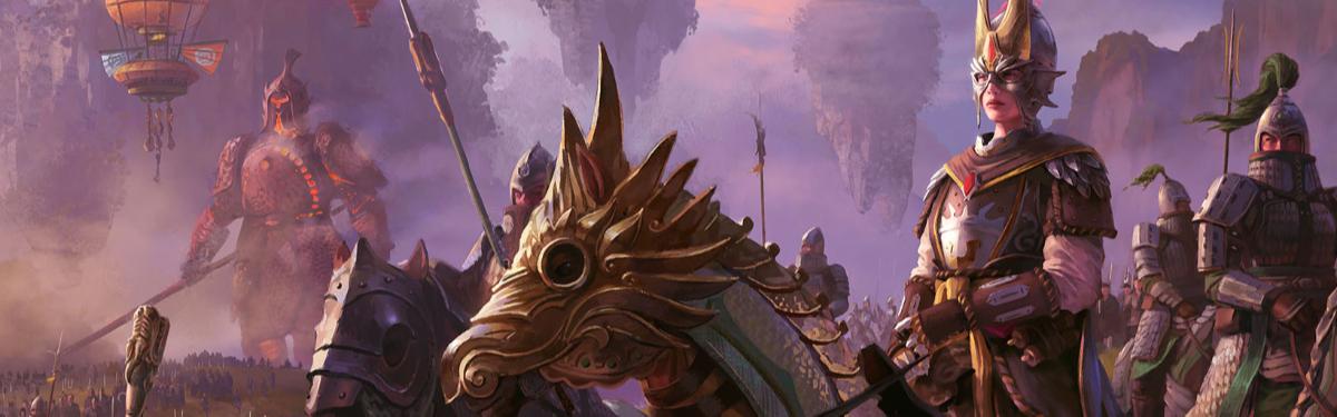 Армия Великого Катая из Total War: WARHAMMER III: от огнестрела до колоссов